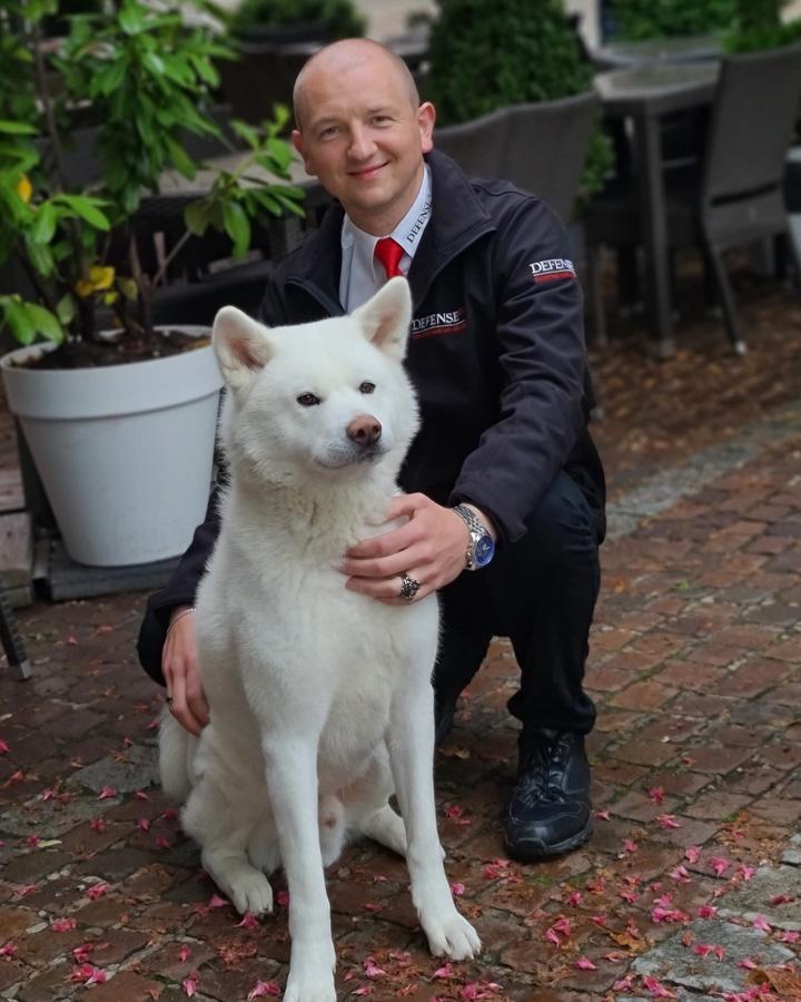 Denis mit Hund